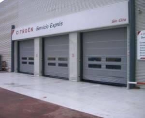 Puertas industriales en Valencia