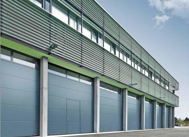 Puertas industriales seccionales industriales