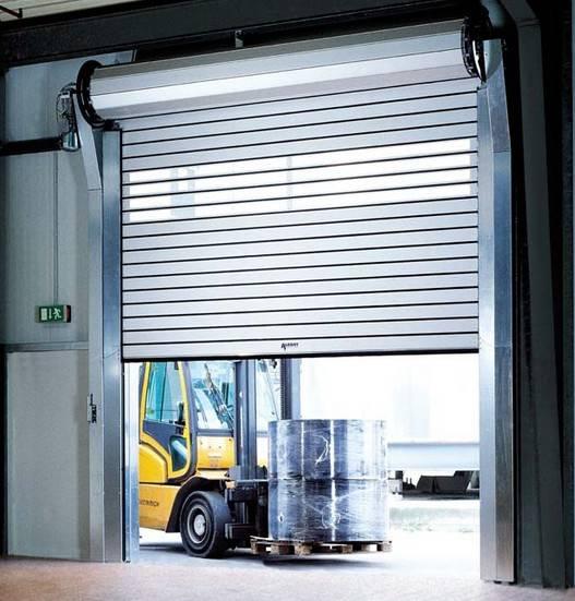 Instalaci n de puertas enrollables en valencia for Puertas industriales