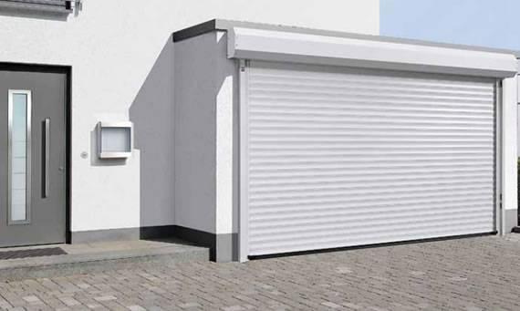 Puertas enrollables en valencia santiago salvador - Tipos de puertas de garaje ...