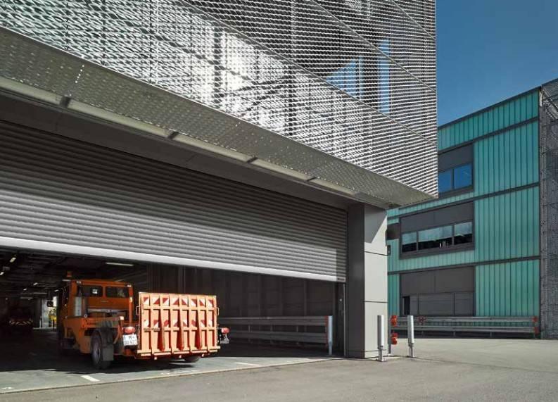puertas enrrollables industriales
