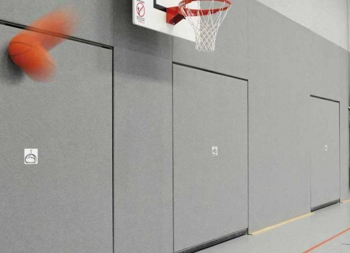 puertas para pabellones deportivos