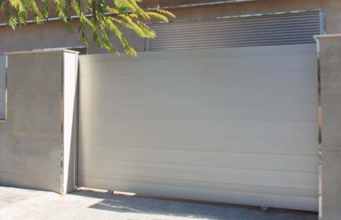 Puertas correderas de aluminio Valencia de calidad