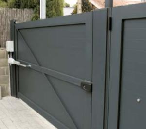 Puertas automáticas de aluminio Valencia